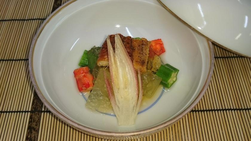 夏野菜冷やし煮物